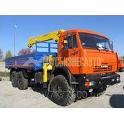 Манипулятор КАМАЗ 43118+SOOSAN SCS335 фото