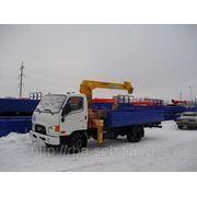 КМУ Soosan SCS333 на шасси Hyundai HD 78. фото