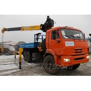 Манипулятор КАМАЗ 43118-6033-24 SOOSAN 736 top борт ст. 6м. фото