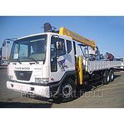 Daewoo Novus Ultra кран Soosan SCS746L, борт 16000 кг