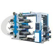 Шестицветная флексографическая печатная машина фото