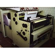 Машина для производства кассовых лент и факсовой бумаги УРМ - 900А. фото