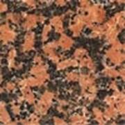 Гранитная плитка облицовочная Балморал Ред фото