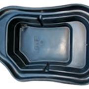 Пруд декоративный 900л синий (240х152х52см) фото