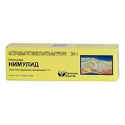 Трансдермальный гель Нимулид (Нимесулид) 1% 30 г фото
