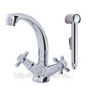 Смеситель для умывальника с гигиеническим душем АМ-РМ 5 O'CLOCK фото