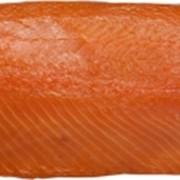 Филе лосося (семги) копченая, в/у, 2-2,5 кг. фото