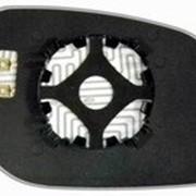 Элемент зеркальный левый асферический с обогревом LAND ROVER Freelander 98-06 L.Asf.Cro фото
