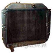 """Радиатор охлаждения ЗИЛ-130, 131 (медный, 3-рядный) """"ШААЗ"""" фото"""