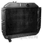 """Радиатор охлаждения ЗИЛ-130, 131 (медный, 4-рядный, под пробку) """"ШААЗ"""" фото"""