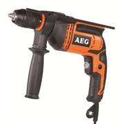 Дрель ударная AEG SBE 600 R Kit фото