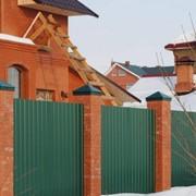 Профлист на забор от производителя С8, С10 фото