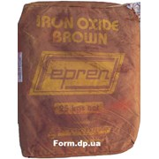Краситель коричневый для бетона НМ-470 фото
