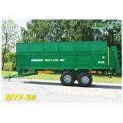 Машина для внесения твердых органических удобрений МТУ-24 фото