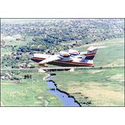 Самолет-амфибия грузовой Бе-200 фото