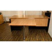 Стол письменный офисный фото