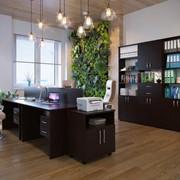 Комплект офисной мебели Сокол П К2 Венге фото