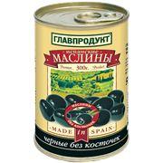 Маслины испанские черные без косточек фото