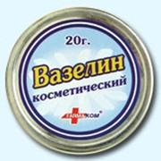 Товары косметологические. Вазелин косметический. фото