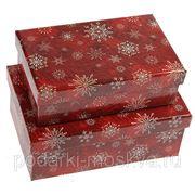 "Комплект коробок из 2шт. ""Снежинки"" 318-997"