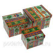 "Комплект коробок из 3шт. ""Новогодний"" 316-996"