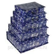"""Комплект коробок книжек из 5шт. """"Снежинки"""" 322-999"""