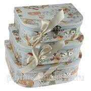 """Комплект коробок-сундучков из 3-х шт. """"Новогодняя сказка"""" 600-987 фото"""