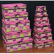 "Комплект коробок из 16шт. ""Бабочки"" 911-061 фото"