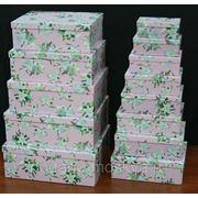 "Комплект коробок из 16шт. ""Лилии"" 910-053 фото"