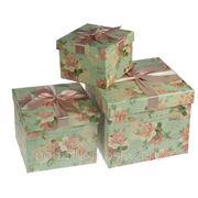 """Комплект коробок из 3-х шт. """"Поздравительная открытка"""" 640-008 фото"""