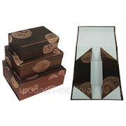 Комплект коробок из 3шт. 541-006 фото