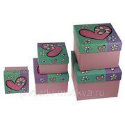 Комплект коробок из 5шт. 199508 фото