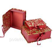 """Комплект коробок-книг из 3-х шт. """"Сатин"""" 611-003 фото"""
