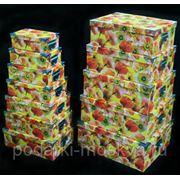 """Комплект коробок-сундучков из 12шт. """"Маки"""" 920-017 фото"""