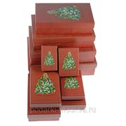 "Комплект коробок из 10шт. ""Новогодняя ёлка"" 970-967 фото"