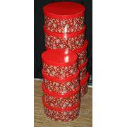 """Комплект коробок из 12 шт. """"Красные шары"""" 950-966 фото"""