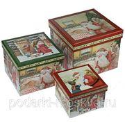 "Комплект коробок из 3-х шт. ""Подарок Деда Мороза"" 643-998 фото"