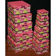 "Комплект коробок из 17шт. ""Бабочки"" 931-061 фото"