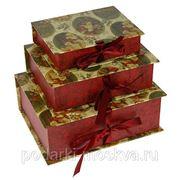 """Комплект коробок-книг из 3-х шт. """"С Новым Годом"""" 610-999 фото"""
