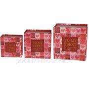 Комплект коробок-книг из 3шт. 14*14*8см 199515 фото