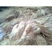 Волокна джутовые фото