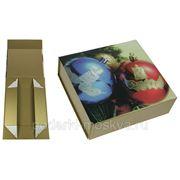 """Коробка-трансформер """"Новогоднее настроение"""" 21*20*7см 401-995 фото"""
