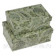 """Комплект коробок из 2шт. """"Индийский узор"""" 318-008 фото"""