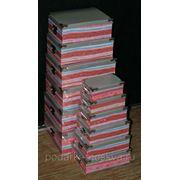 """Комплект коробок-сундучков из 12шт. """"Узор """" 920-085 фото"""