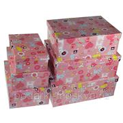 "Комплект коробок из 6шт. ""Кошечки"" 312-003 фото"