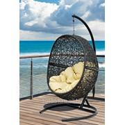 Кресло подвесное Lunar Black фото