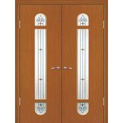 Межкомнатные двери ПВХ Геона модель Диадема с фьюзингом фото