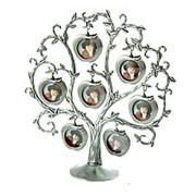 Фоторамка-дерево на 6 фото 25*8*26см . 64403 фото