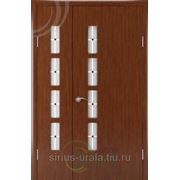 Межкомнатная дверь с покрытием ПВХ, модель Византия. фото