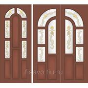 Витражи для межкомнатных дверей DG-3 фото